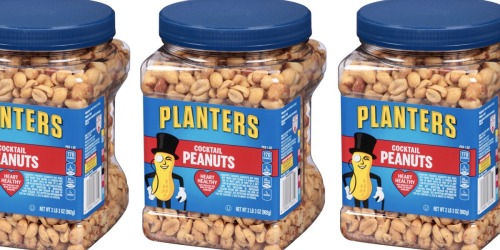 Planters Cocktail Peanuts 35oz Jar Only $4.52 Shipped on Amazon