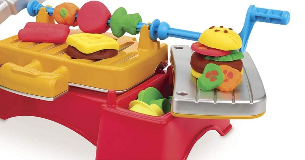Play-Doh Barbecue Play Set Assembled