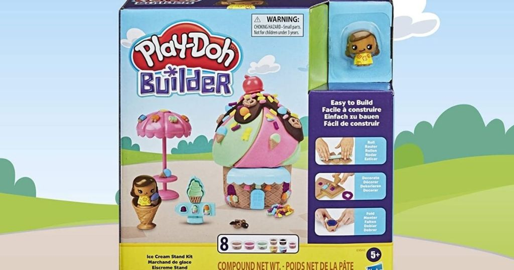 Play-Doh Builder Ice Cream Stand Set