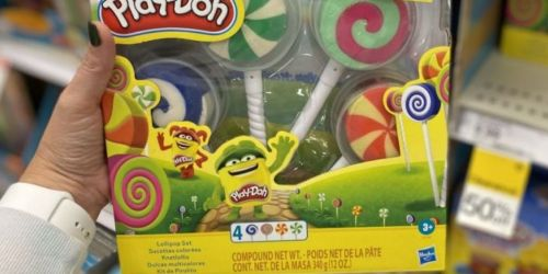 Play-Doh Lollipop 4-Pack Play Set Only $4 on Amazon (Regularly $10)