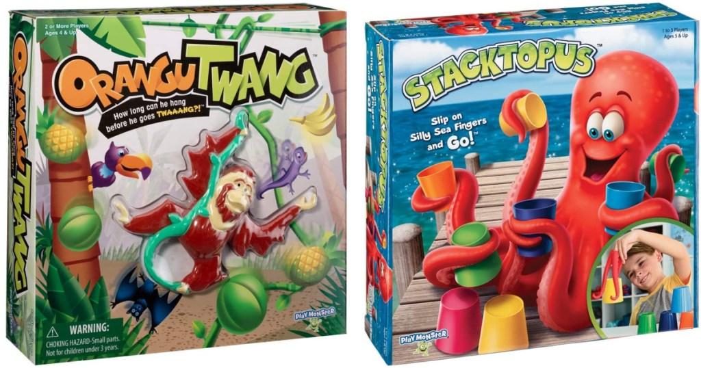 Orangutwang and PlayMonster Stacktopus Games