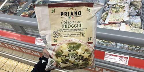 Christmas Gnocchi w/ Star & Tree Shapes Now Available at ALDI