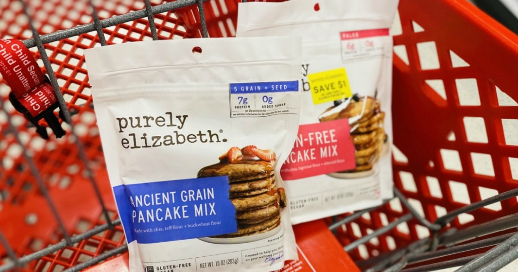 Purely Elizabeth pancakes in cart