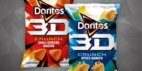 3D Doritos to Return in January 2021 w/ New Name & Flavors!