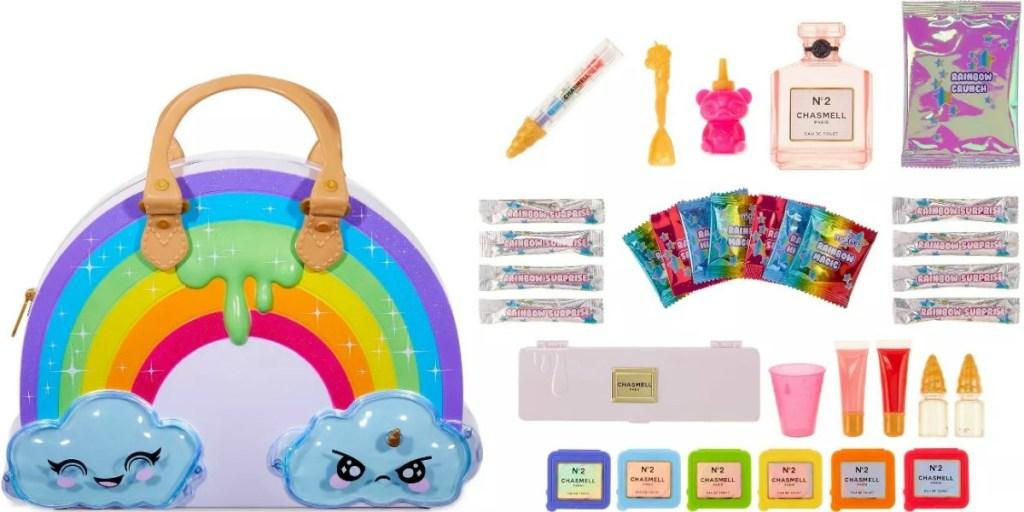Rainbox themed slime kit