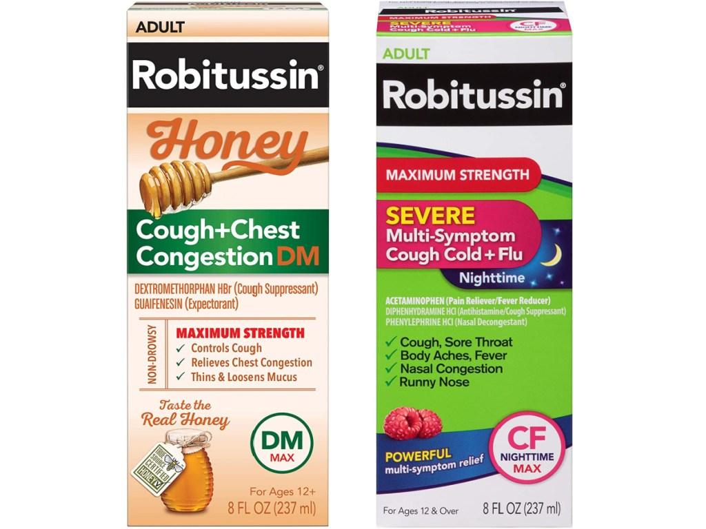 Robitussin Honey and Maximum Strength