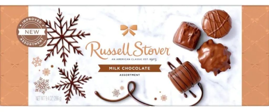 Russel Stover Milk Chocolate Box