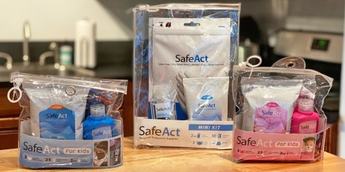Personal Protective Kits from $3 Each Shipped (Includes Face Masks, Hand Sanitizer, Wipes & More!)