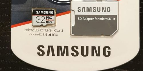 Samsung microSD 32GB Memory Card w/ Adapter Only $7.84 on Amazon (Regularly $13)