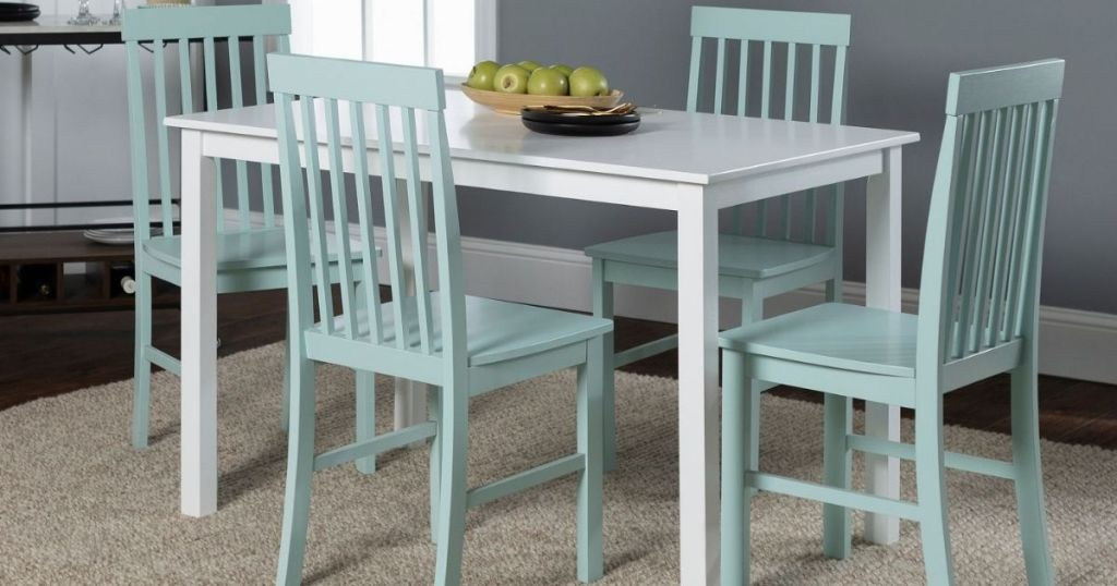 Saracena Home Dining Table with Four Chairs