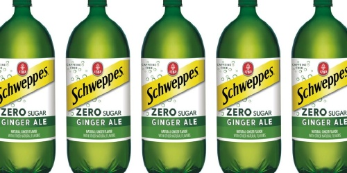 FREE Schweppes Zero Sugar 2L Bottle at Kroger