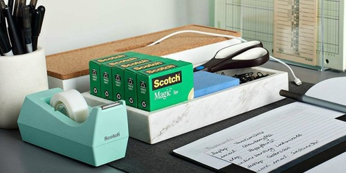 Scotch Magic Tape 12-Count Only $13.99 Shipped on Staples.com