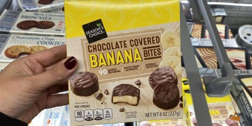 Chocolate Covered Banana Bites Only $1.99 at ALDI