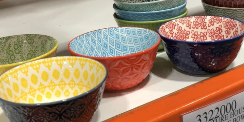 Dress Up Your Table with 10 Colorful Stoneware Bowls Just $9.99 at Costco