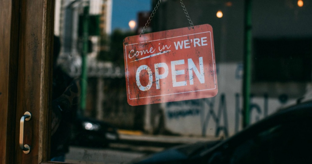small business that is open