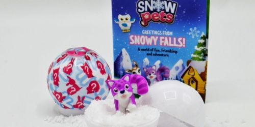 Snow Pets & Amazing Snow Kit Only $2.79 on Michaels.com | Add Water to Reveal a Cute Toy