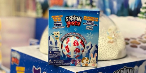 Snow Pets & Amazing Snow Kit Only $2.79 on Michaels.com | Great Stocking Stuffer!