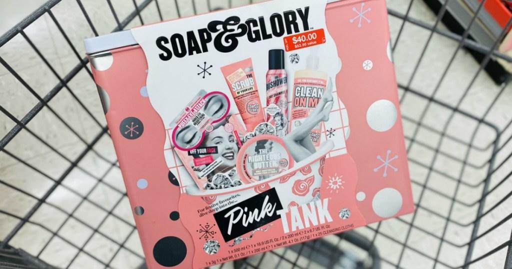 Soap & Glory Pink Tank Gift Set