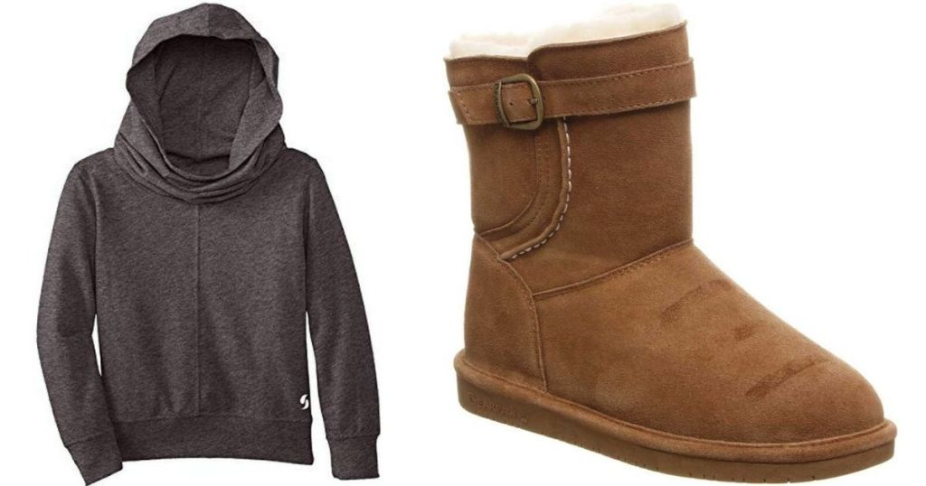 Soffe Sweatshirt and Boot