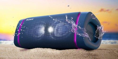 Refurbished Sony Waterproof Bluetooth Speaker Just $62 Shipped (Regularly $150)