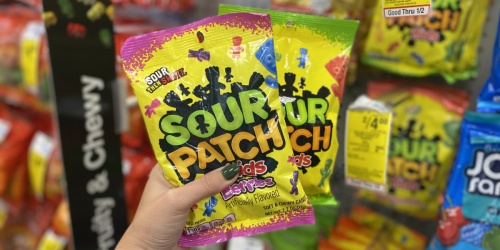 Sour Patch Kids Candy Bags Only $1 Each at CVS