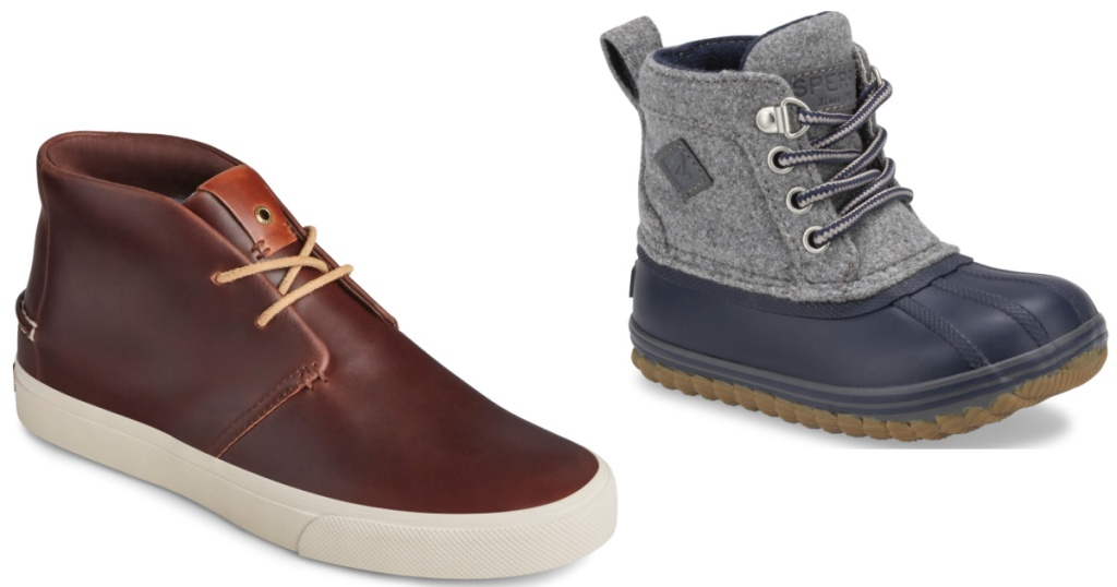 Men's Sperry and Kids Sperry Boots