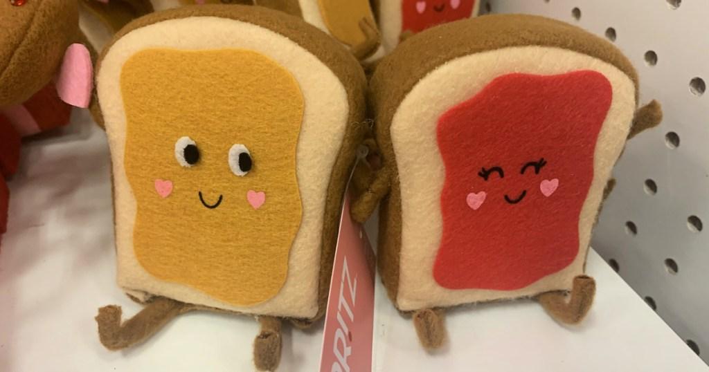 Spritz Valentine's Day Figures Peanut Butter & Jelly on shelf at Target