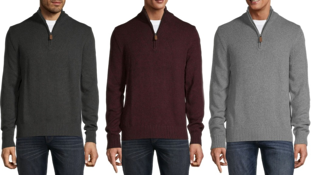 St. John's Bay Men's Sweaters