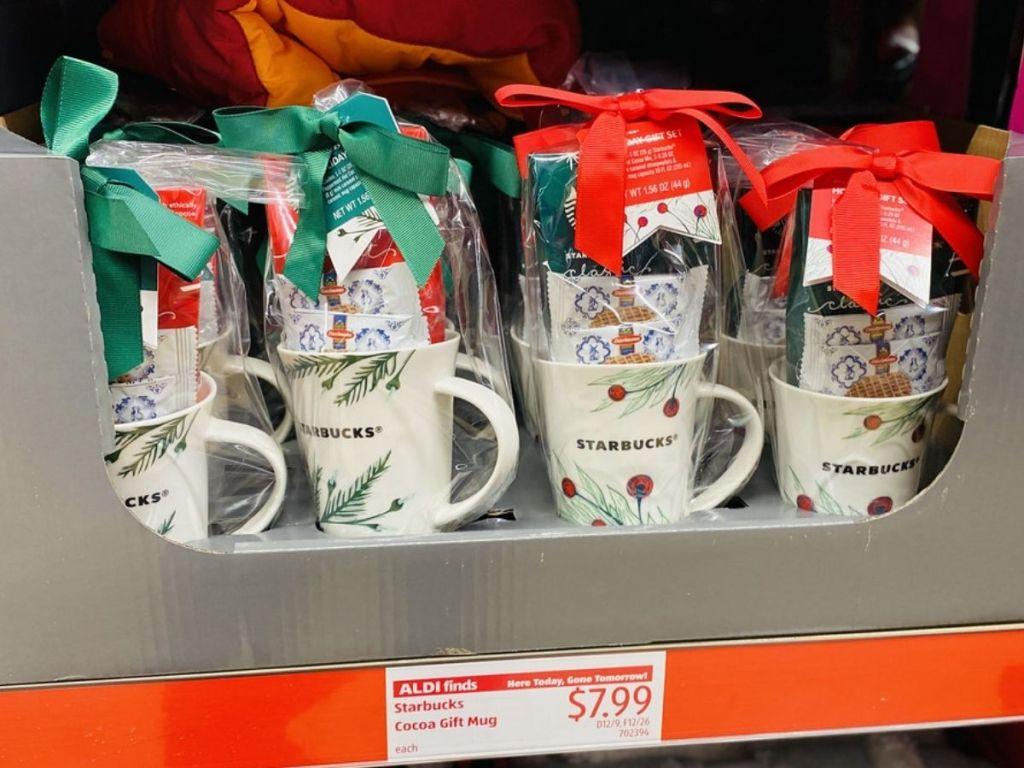Starbucks Cocoa Mug Gift Set ALDI