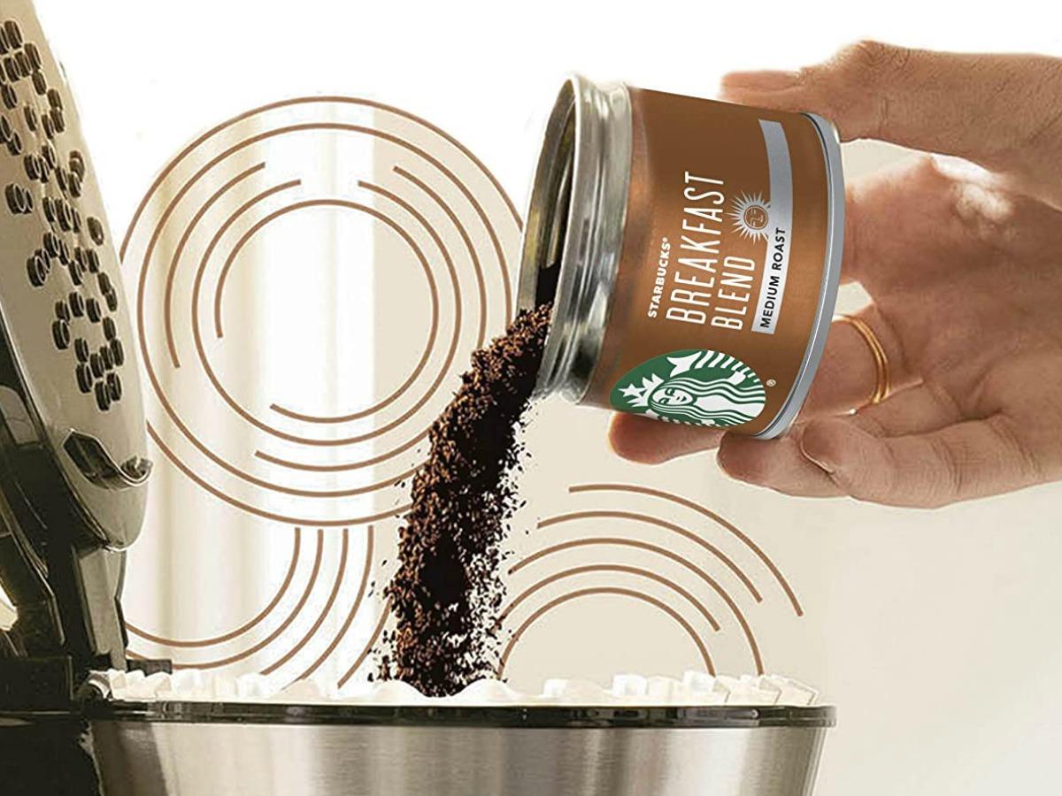 Starbucks Fresh Brew Coffee Cans