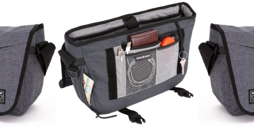 SwissGear Messenger Bag Only $12 on Amazon (Regularly $25)