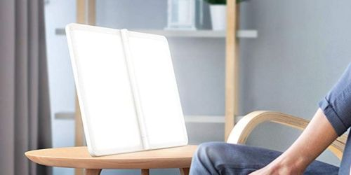 This Light Therapy Lamp Helps Boost Your Mood & is Just $27.99 Shipped on Amazon