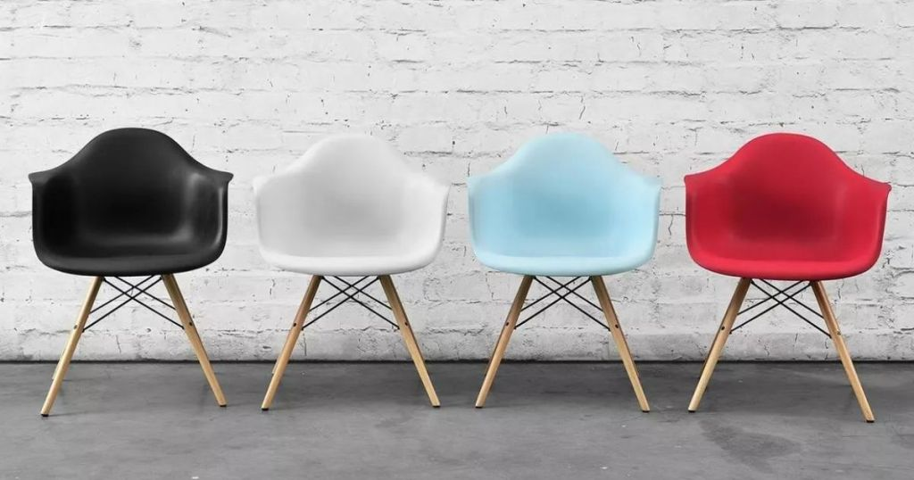 4 different color Target Chairs