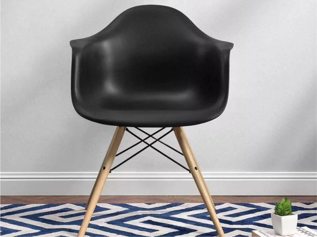 Target Mid Century Modern Chair in black