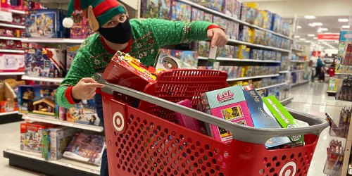 Shop Target's Same Day Pickup Services Through 5pm on Christmas Eve for Last-Minute Gifts