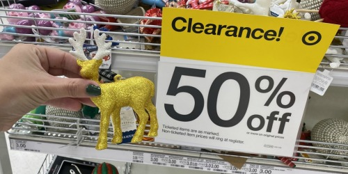 Up to 50% Off Christmas Ornaments, Decor, Apparel, Gift Sets & More at Target