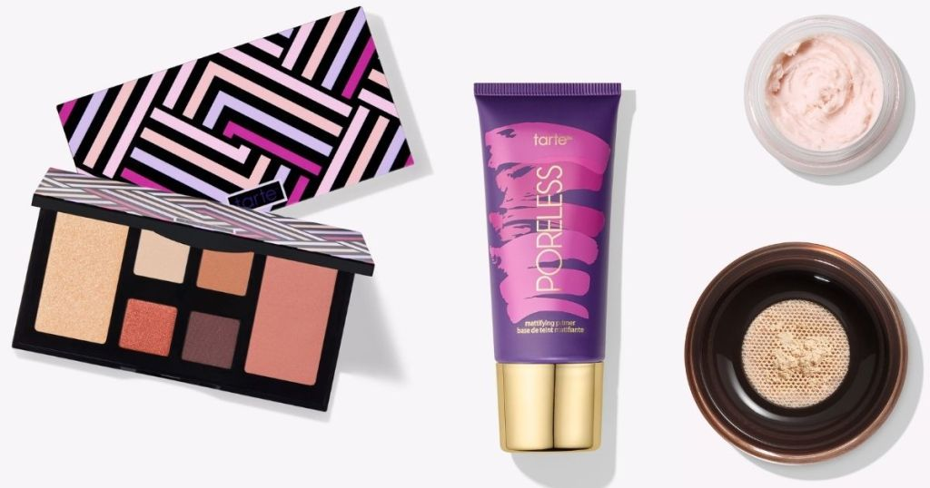 group of Tarte cosmetics