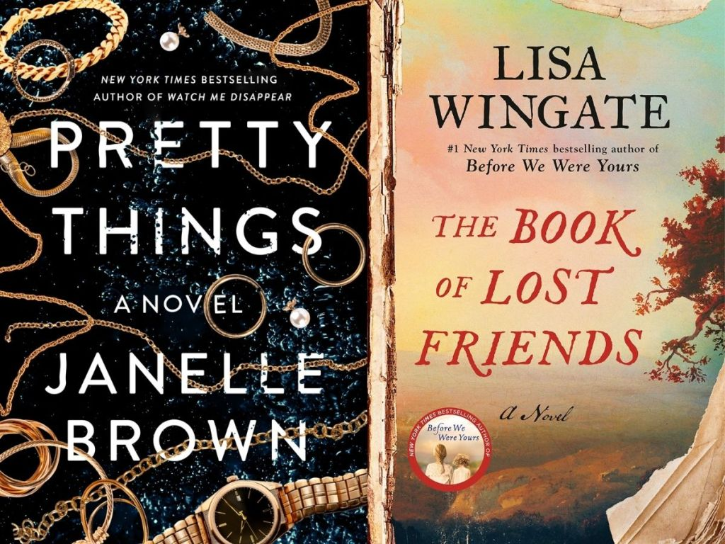 The Book of Lost Friends and pretty things book covers