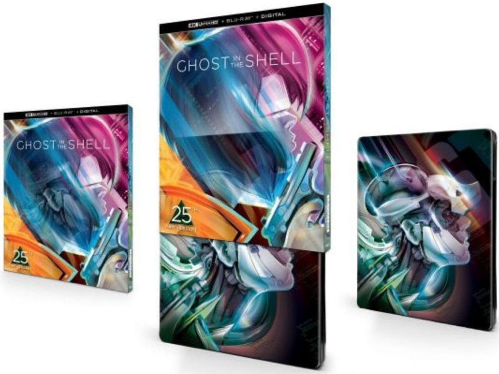 The Ghost in the Shell Steelbook