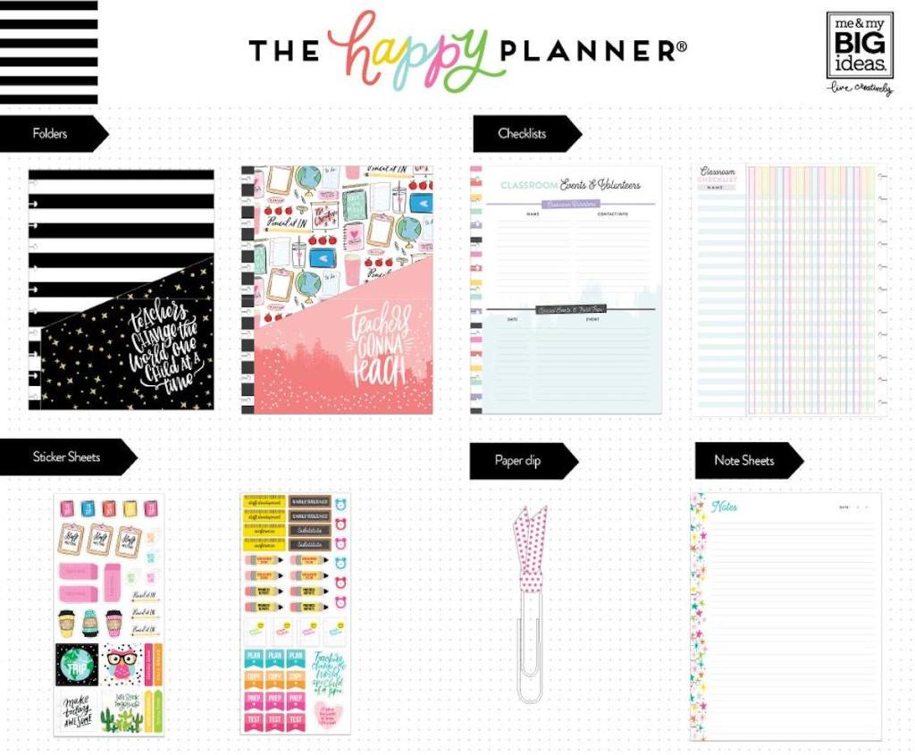 The Happy Planner Teachers Gonna Teach Planner Accessory Set