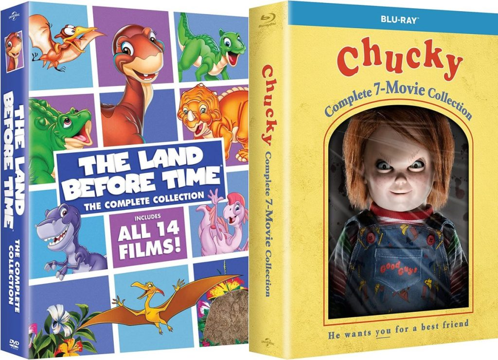 The Land Before Time & Chucky movie collections