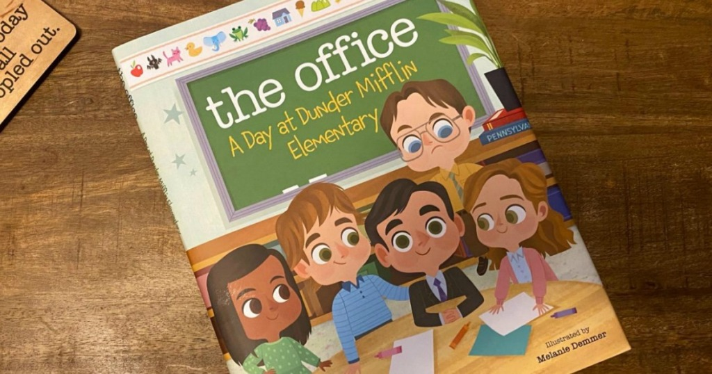 A kids book based off The Office TV show