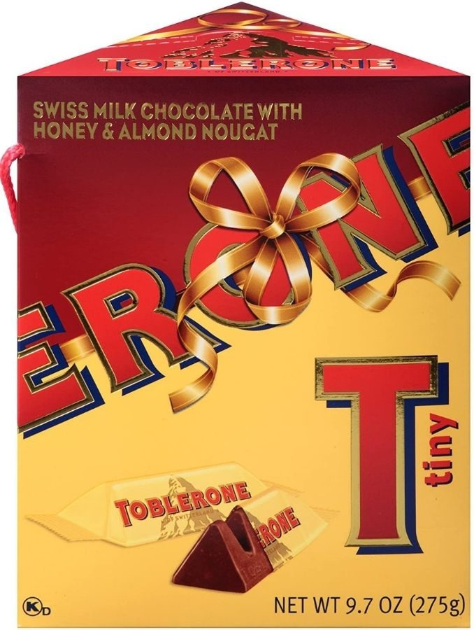 Toblerone Minis Holiday Gift Box