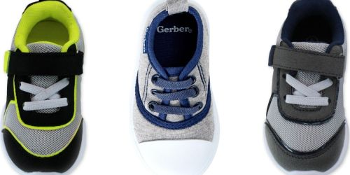 Gerber Toddler Boys Sneakers From $3.75 on Walmart.com (Regularly $20)