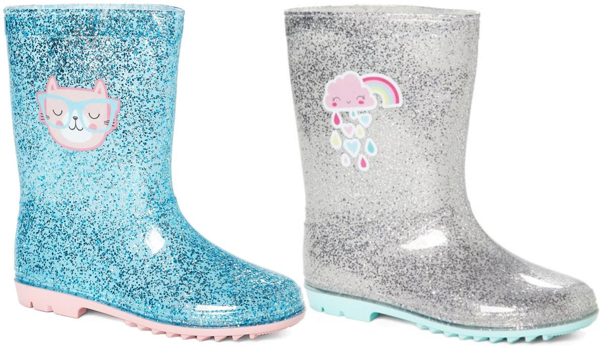 Chatties Little Girls Fun Print Rain Boot