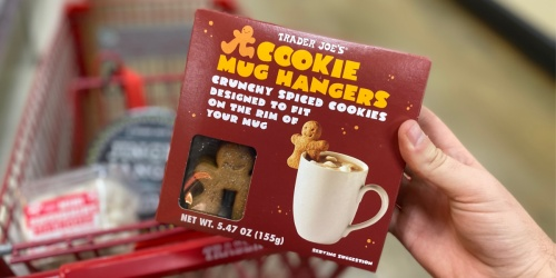 Cookie Mug Hangers Only $2.99 at Trader Joe's | Perfect for Your Favorite Holiday Drinks