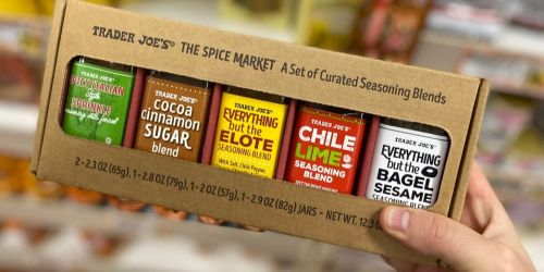 Trader Joe's Spice Market Gift Box Only $9.99 | Includes 5 Popular Seasoning Blends