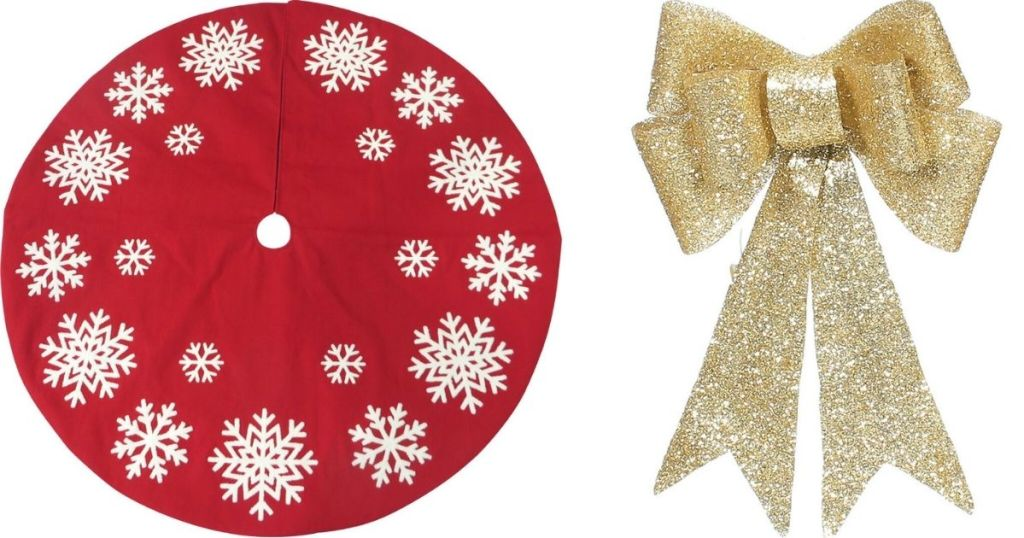 Tree Skirt and Bow