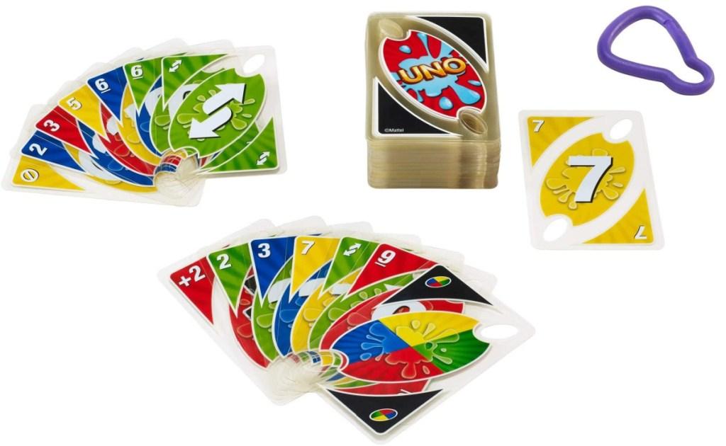 UNA Splash Card game