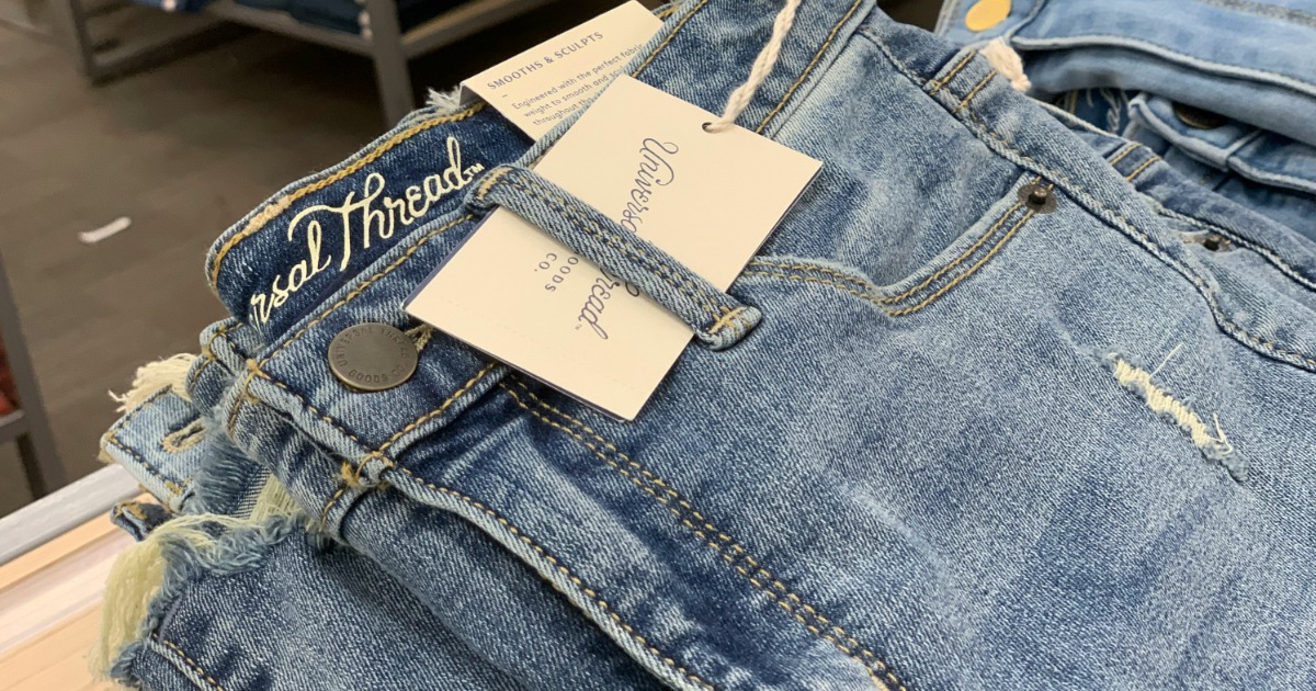 Women's jeans with tags